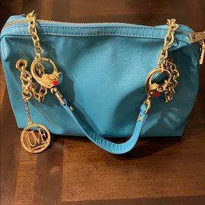 LOVE MOSCHINO Saffiano Cow-Detail Shoulder Bag